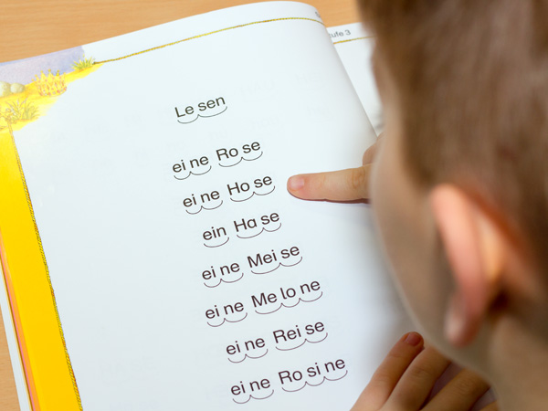 Leseinsel der Leimbachtalschule