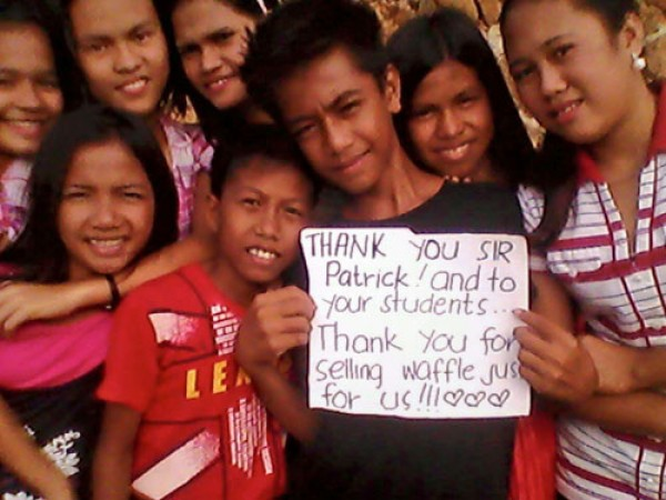SMV Spendenaktion für Philippinische Schule