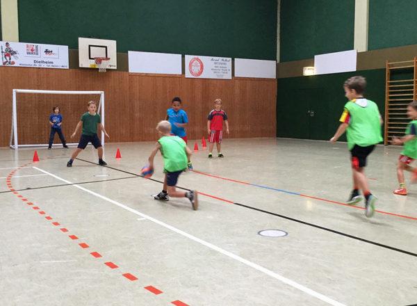 Handballtag mit TV Dielheim