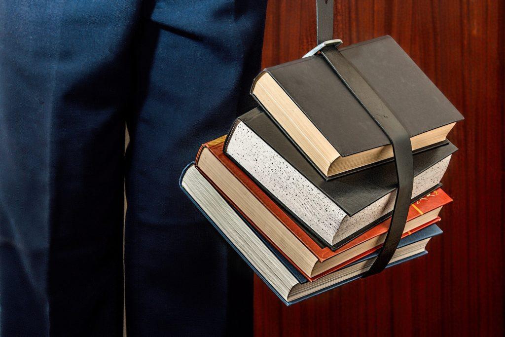 Bücher im Gepäck